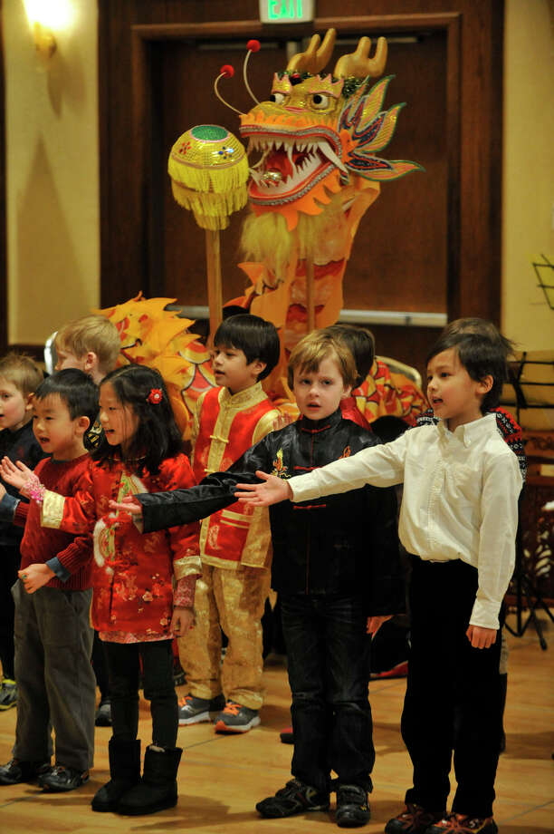The Chinese Language School of Connecticut's Chinese New Year Festival heralded the year of the horse at the Hilton Stamford Hotel in Stamford, Conn., on Sunday, Jan. 26, 2014. Photo: Jason Rearick / Stamford Advocate