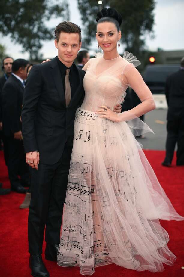 Singer Katy Perry (R) and brother David Hudson attends the 56th GRAMMY Awards at Staples Center on January 26, 2014 in Los Angeles, California. Photo: Christopher Polk, Getty Images For NARAS
