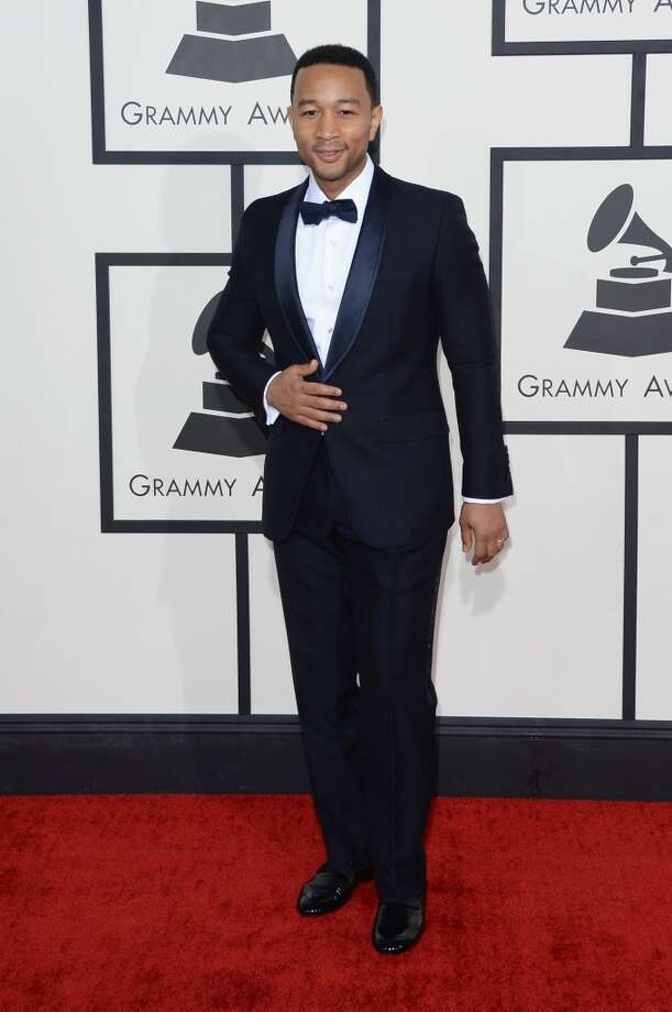 Singer John Legend attends the 56th GRAMMY Awards at Staples Center on January 26, 2014 in Los Angeles, California. Photo: Jason Merritt, Getty Images