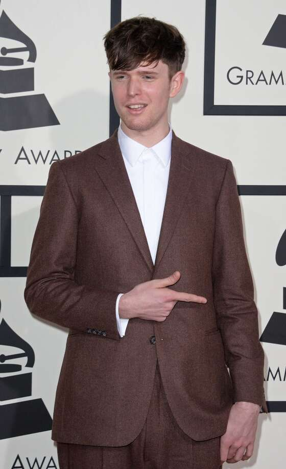 Nominee For Best New Artist James Blake arrives on the red carpet for the 56th Grammy Awards at the Staples Center in Los Angeles, California, January 26, 2014. Photo: ROBYN BECK, AFP/Getty Images
