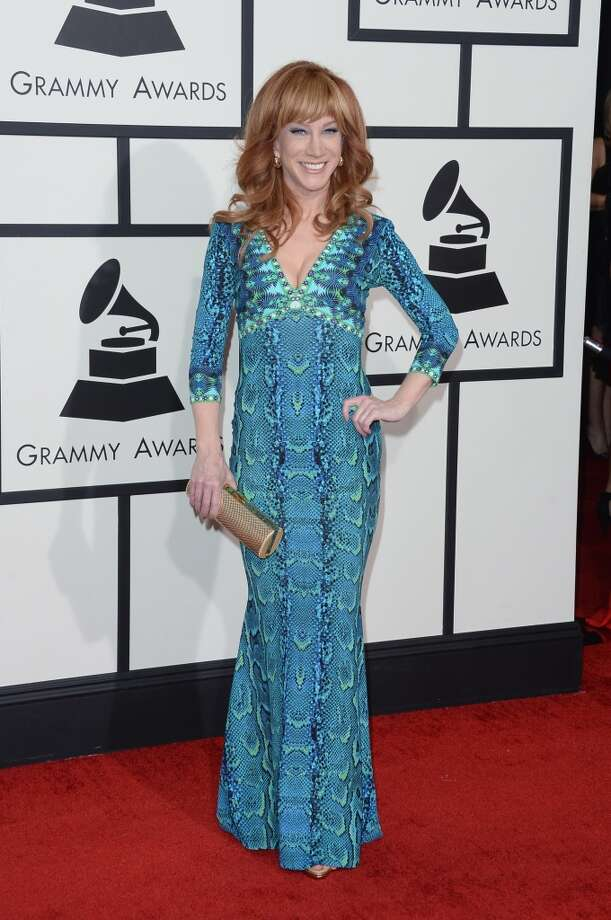 Comedienne Kathy Griffin attends the 56th GRAMMY Awards at Staples Center on January 26, 2014 in Los Angeles, California. Photo: Jason Merritt, Getty Images