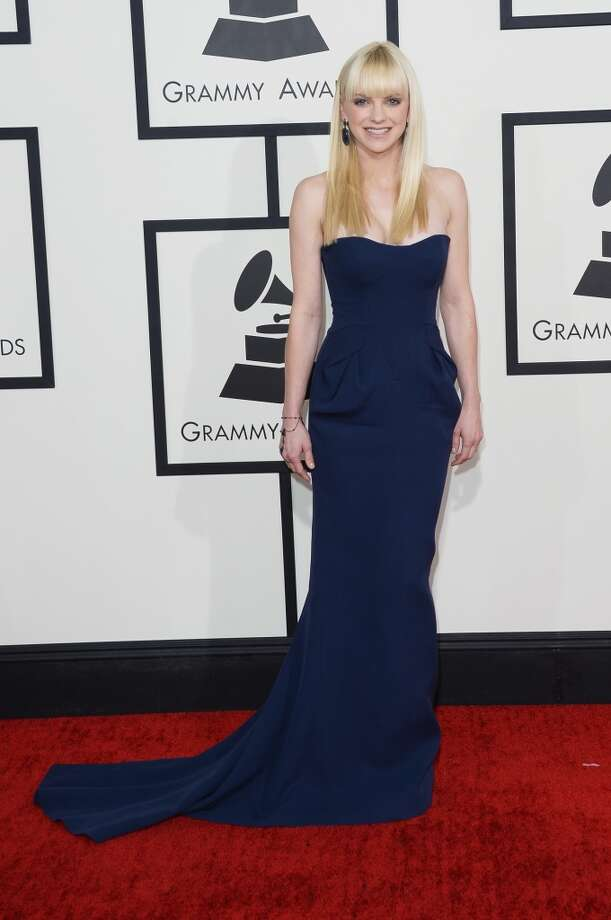 Actress Anna Faris attends the 56th GRAMMY Awards at Staples Center on January 26, 2014 in Los Angeles, California. Photo: Jason Merritt, Getty Images