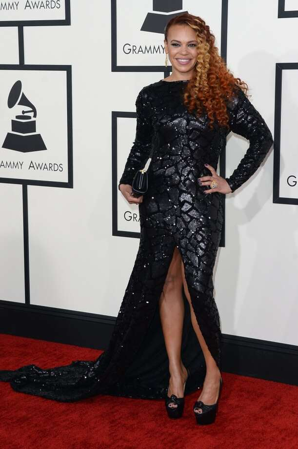 Singer Faith Evans attends the 56th GRAMMY Awards at Staples Center on January 26, 2014 in Los Angeles, California. Photo: Jason Merritt, Getty Images