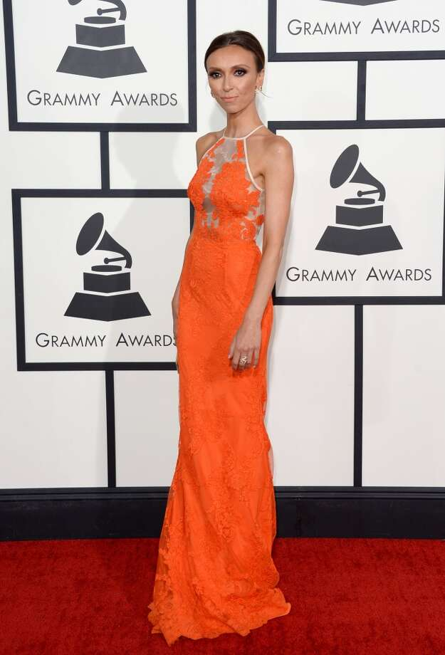 TV personality Giuliana Rancic  attends the 56th GRAMMY Awards at Staples Center on January 26, 2014 in Los Angeles, California. Photo: Jason Merritt, Getty Images