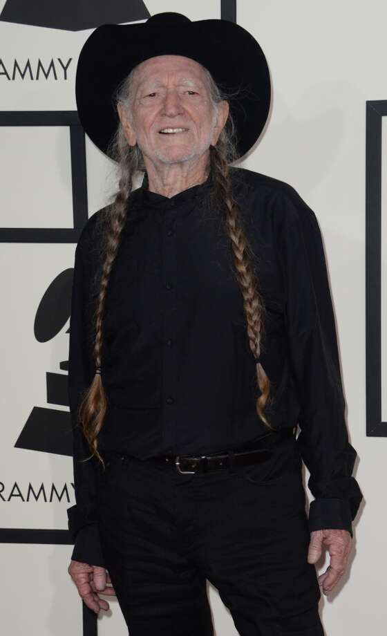 Willie Nelson arrives on the red carpet for the 56th Grammy Awards at the Staples Center in Los Angeles, California, January 26, 2014. Photo: ROBYN BECK, AFP/Getty Images