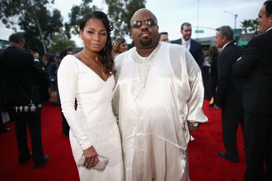 Singer Cee-Lo Green (R) and daughter attend the 56th GRAMMY Awards at Staples Center on January 26, 2014 in Los Angeles, California. Photo: Christopher Polk, Getty Images For NARAS