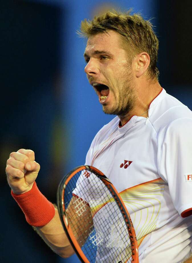 Stanislas Wawrinka became the first man in 21 years to beat the No. 1 and No. 2 players en route to a Grand Slam title. Photo: SAEED KHAN, Staff / AFP