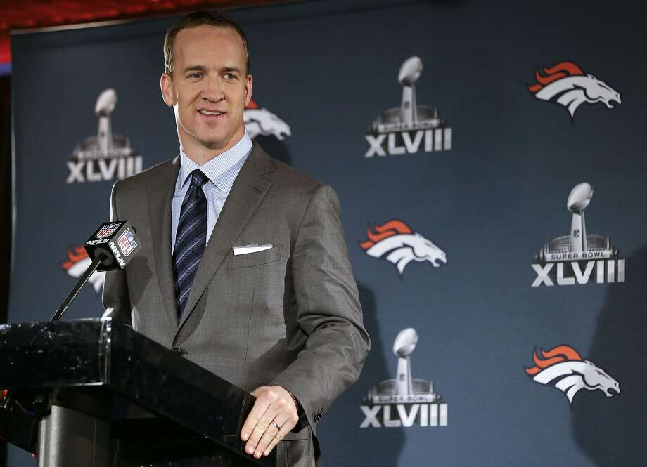 After setting NFL passing records this season, Peyton Manning said retirement in the near future is not in his plans. Photo: Mark Humphrey, Associated Press