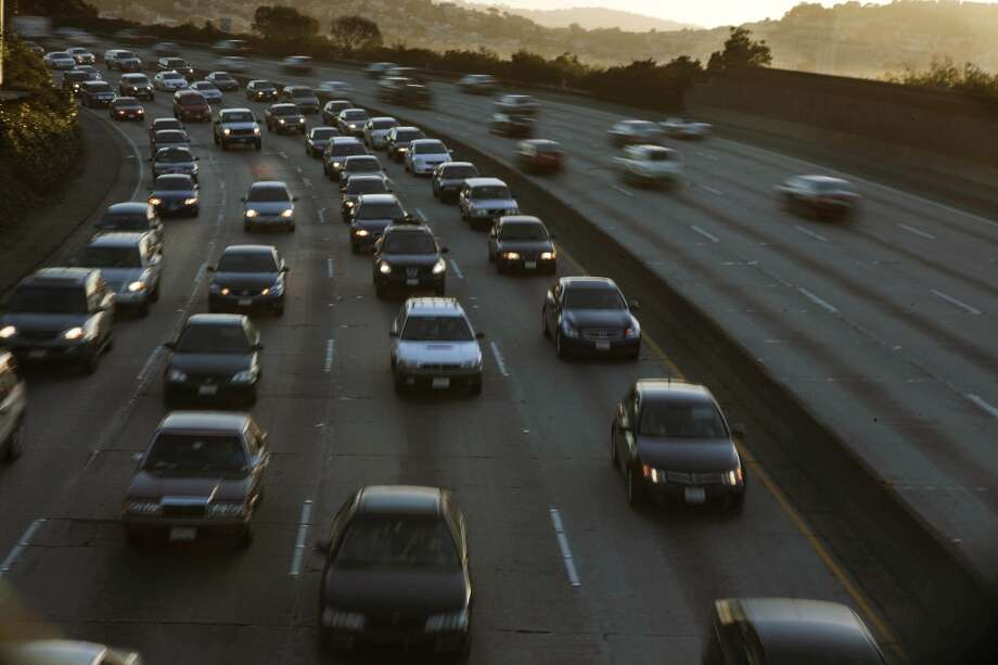 Refer to freeways by numbers only, don't say 'the 101' or 'the 280.' Photo: Lea Suzuki, The Chronicle