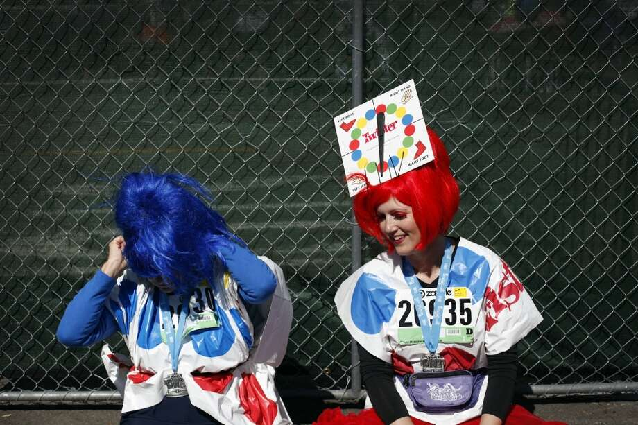 Make up a funny costume you wore or will wear to Bay to Breakers. Photo: Sarah Rice, Special To The Chronicle