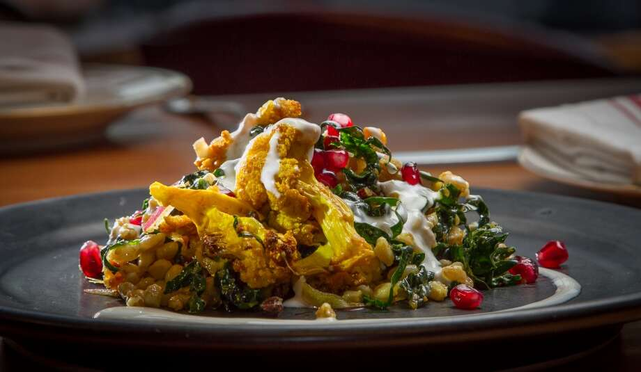 The Farro, Kale, and Spiced Cauliflower Salad at Penrose in Oakland. Photo: John Storey, Special To The Chronicle