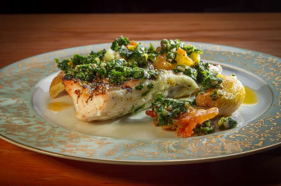 The Grilled Wild Sea Bass at Penrose in Oakland. Photo: John Storey, Special To The Chronicle