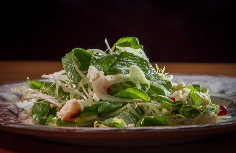 The Arugula, Frisee, and Shaved Fennel Salad at Penrose in Oakland. Photo: John Storey, Special To The Chronicle