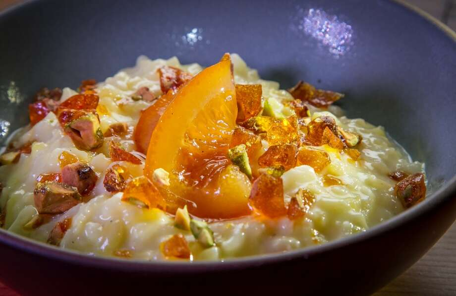 The Saffron Cardamon Rice Pudding at Penrose in Oakland. Photo: John Storey, Special To The Chronicle