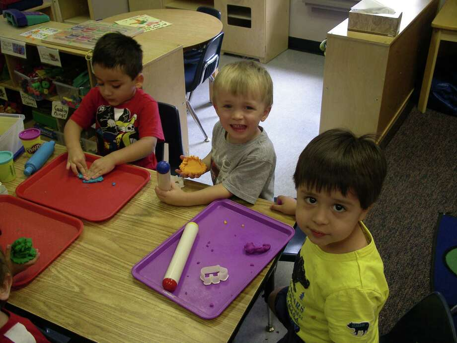Kindergarten students from the Interfaith Child Development Center in The Woodlands. Photo: Photo By Interfaith Of The Woodlands