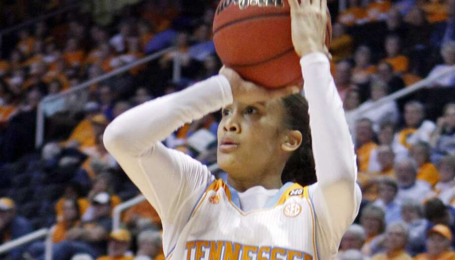 "Tennessee senior Meighan Simmons, a graduate of Steele, is described as a ""scorer"" by her coach, Holly Warlick. Photo: Wade Payne, Associated Press"