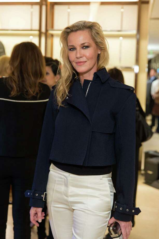 Connie Nielsen at the opening cocktail reception of the newly relocated Salvatore Ferragamo boutique in S.F. on January 23, 2014. Photo: Drew Altizer, Drew Altizer Photography / ©2014 byDrew Altizer all rights reserved