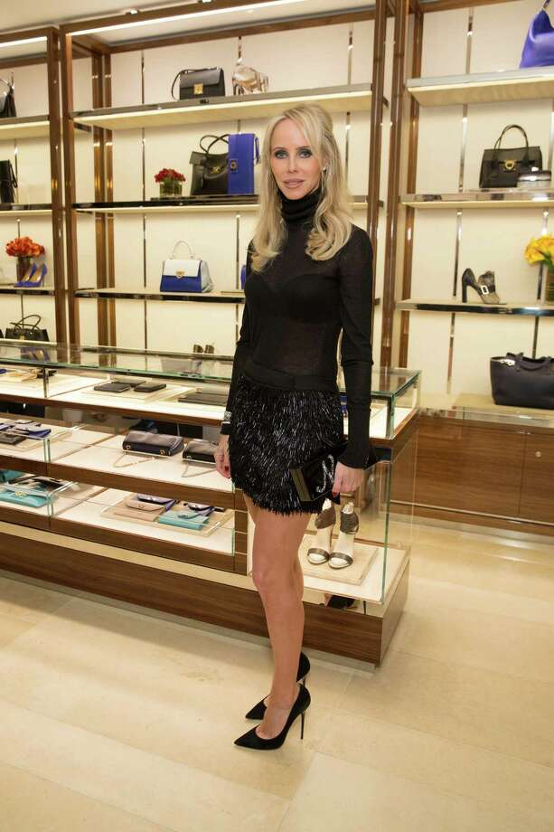 Vanessa Getty at the opening cocktail reception of the newly relocated Salvatore Ferragamo boutique in S.F. on January 23, 2014. Photo: Drew Altizer, Drew Altizer Photography / ©2014 byDrew Altizer all rights reserved