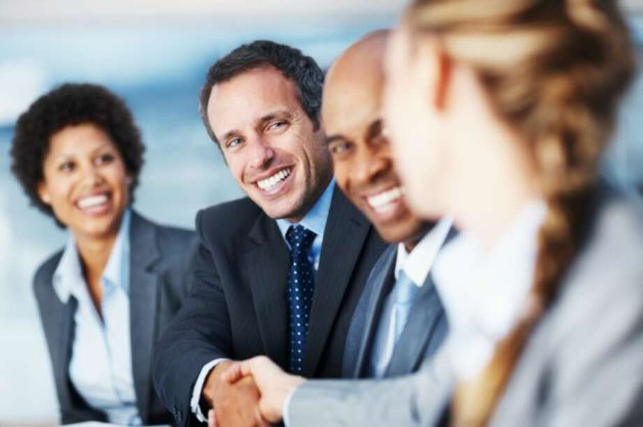 8. Initiate conversationsDon't just wander by tables and hope that the company representatives will stop you. You'll come across as much more assertive and as a potential candidate if you walk up to recruiters and initiate the conversations and show interest and knowledge of the company. (Photo: PRWeb) Photo: PRWeb