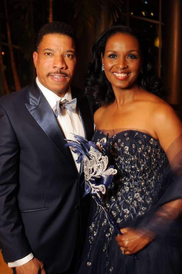 Women of Distinction Winell Herron and her husband Doug at the Carnevale di Venezia Winter Ball  benefitting the Crohn's and Colitis Foundation at the Hilton Americas Hotel Saturday  Jan 25, 2014.(Dave Rossman photo) Photo: Dave Rossman, For The Houston Chronicle