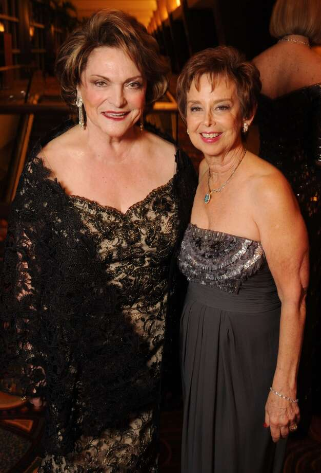 Woman of Distinction Beth Wolff and Evelyn Leightman at the Carnevale di Venezia Winter Ball  benefitting the Crohn's and Colitis Foundation at the Hilton Americas Hotel Saturday  Jan 25, 2014.(Dave Rossman photo) Photo: Dave Rossman, For The Houston Chronicle
