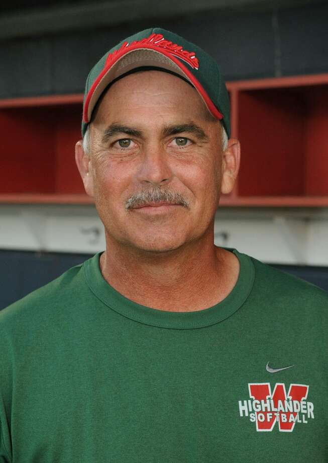 TWHS Head Softball Coach Richard Jorgensen Photo: Jerry Baker, Freelance