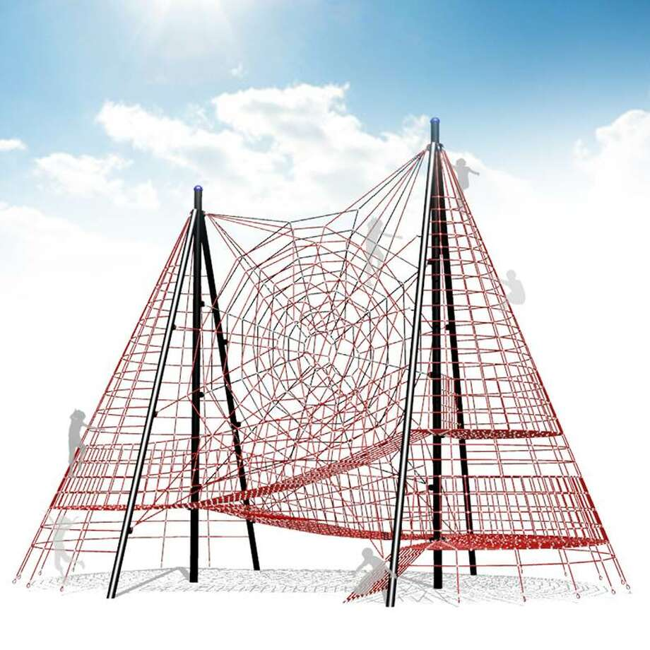 A conceptual drawing of Yanaguana Gardens' jungle gym. Photo: Hemisfair, Courtesy