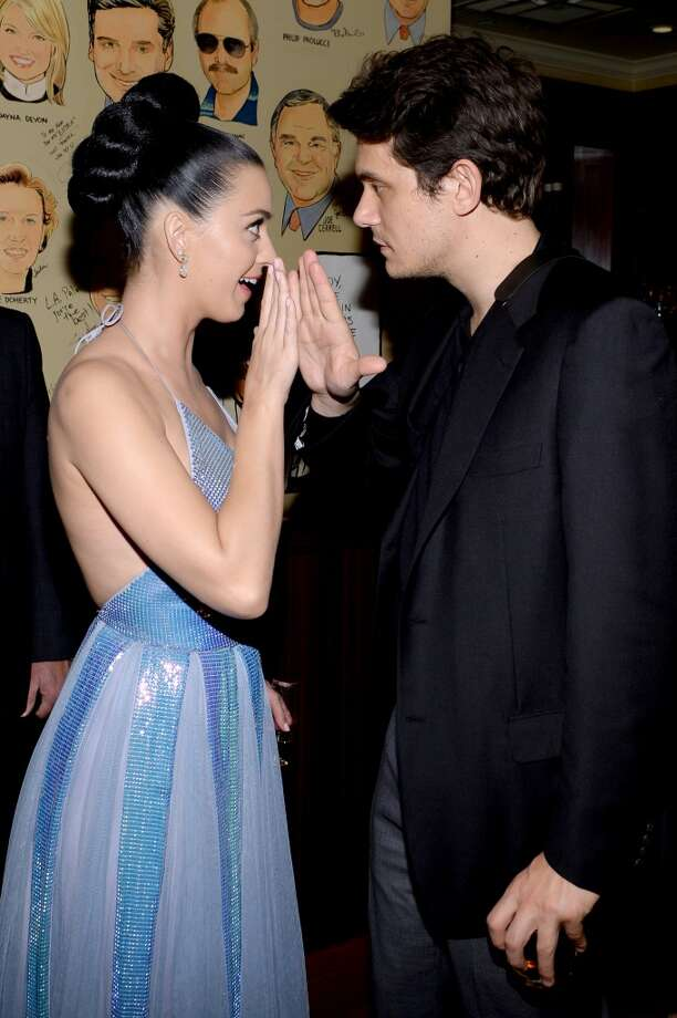 John Mayer may not have attended the Grammys this year with girlfriend Katy Perry, but the two met up at the Sony Music Entertainment Post-Grammy Reception at The Palm on January 26, 2014 in Los Angeles, California.  See who else partied the night away. Photo: Larry Busacca, Getty Images For Sony Music Ente