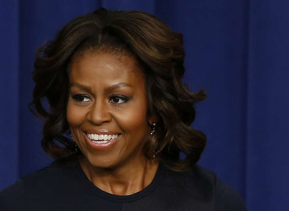 first lady Michelle Obama Photo: Charles Dharapak, Associated Press