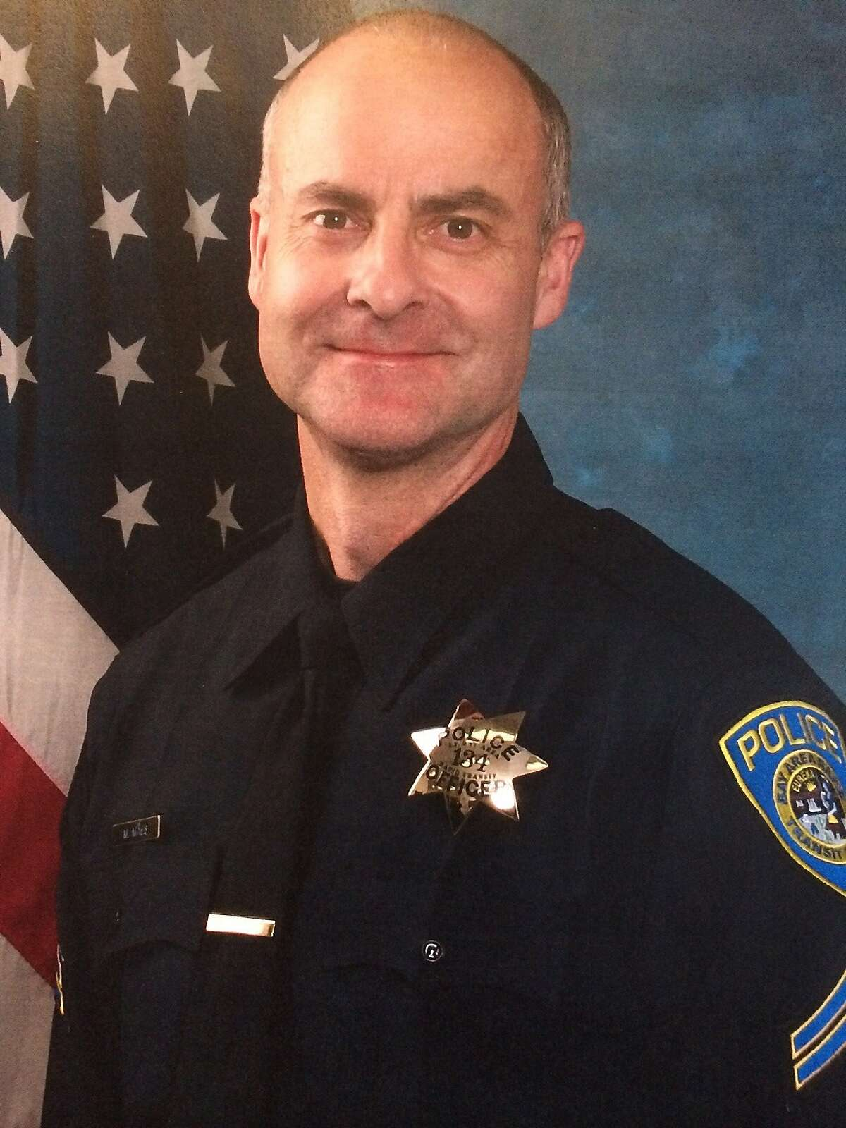 Official portrait of Detective Michael Maes, who shot and killed his BART police supervisor, Sgt. Tommy Smith on Jan. 21, 2014.