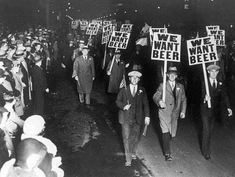 A photo from just prior to 1933 when prohibition ended. Photo: Contributed Photo / The News-Times Contributed