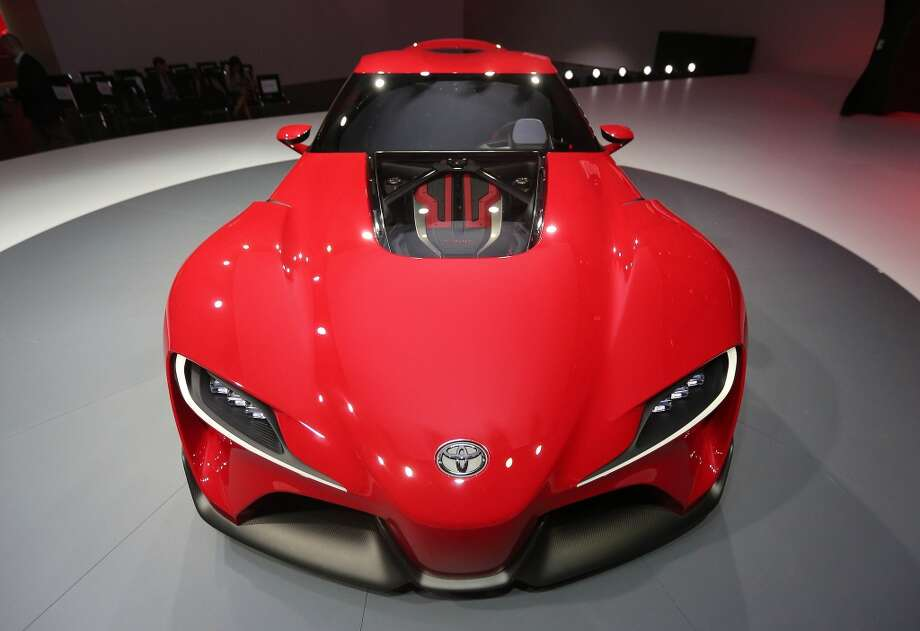 The Toyota F-T1 Concept at  the  North American International Auto Show at Kobo Center in Detroit. (Steve Russell/Toronto Star via Getty Images) Photo: Steve Russell, Toronto Star Via Getty Images