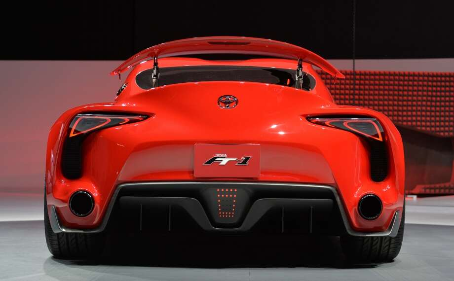 The Toyota FT-1 concept car during a press preview at the North American International Auto Show in Detroit, Michigan.       (STAN HONDA/AFP/Getty Images) Photo: STAN HONDA, AFP/Getty Images