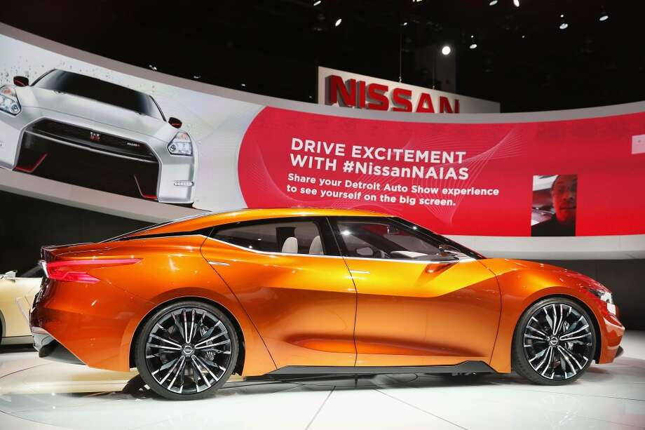 A Nissan Sport Sedan Concept is displayed during a media preview day at the North American International Auto Show (NAIAS) in Detroit, Michigan. (Photo by Scott Olson/Getty Images) Photo: Scott Olson, Getty Images