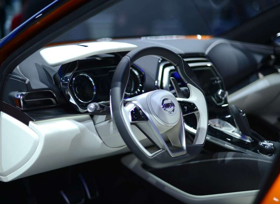 The Nissan Sport Sedan Concept attracts attention during the 2014 North American International Auto Show in Detroit, Michigan. (Photo by Cem Ozdel/Anadolu Agency/Getty Images) Photo: Anadolu Agency, Getty Images