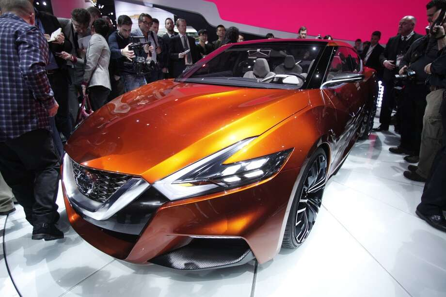 The Nissan Sports Sedan Concept vehicle is introduced at the press preview of the 2014 North American International Auto Show in Detroit, Michigan. (Photo by Bill Pugliano/Getty Images) Photo: Bill Pugliano, Getty Images