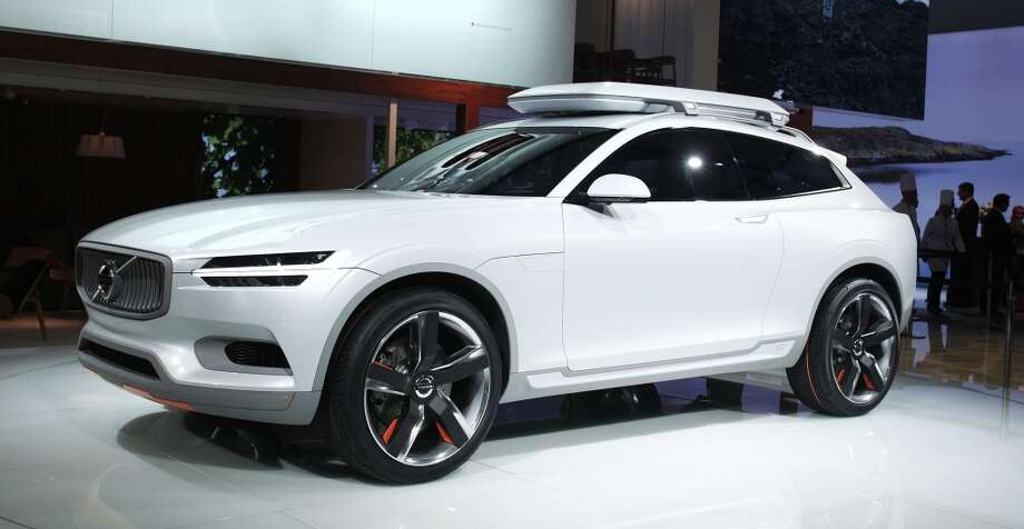 The Volvo XC Concept vehicle at the press preview of the 2014 North American International Auto Show in Detroit, Michigan. (Photo by Bill Pugliano/Getty Images) Photo: Bill Pugliano, Getty Images