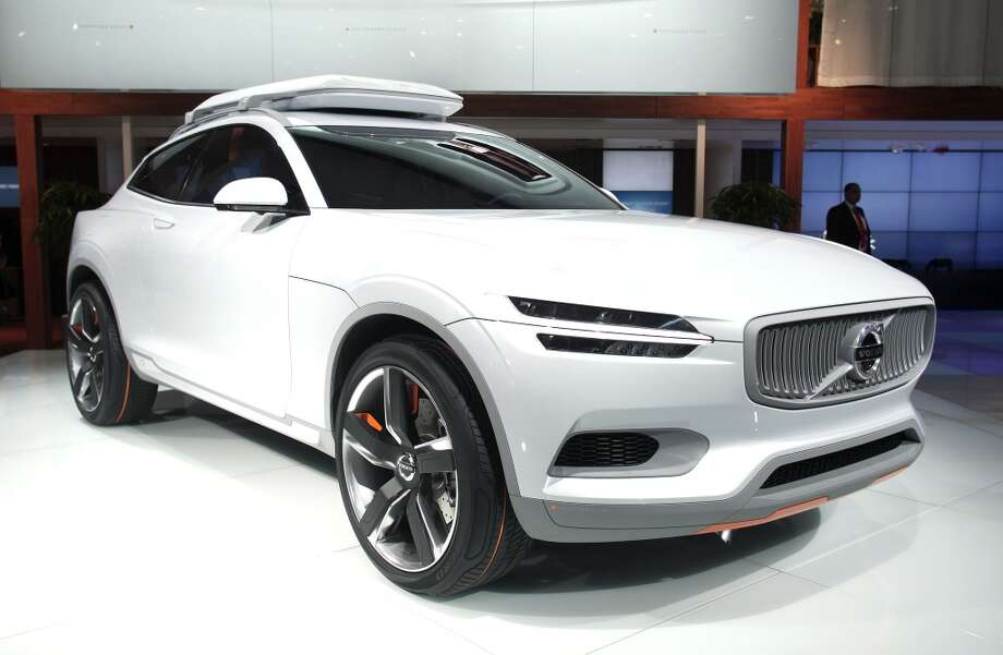 The Volvo XC Coupe Concept vehicle is shown at the press preview of the 2014 North American International Auto Show in Detroit, Michigan. (Photo by Bill Pugliano/Getty Images) Photo: Bill Pugliano, Getty Images