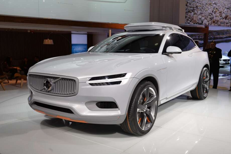 The Volvo XC Coupe concept plug-in hybrid is seen during a press preview at the North American International Auto Show in Detroit. (STAN HONDA/AFP/Getty Images) Photo: STAN HONDA, AFP/Getty Images