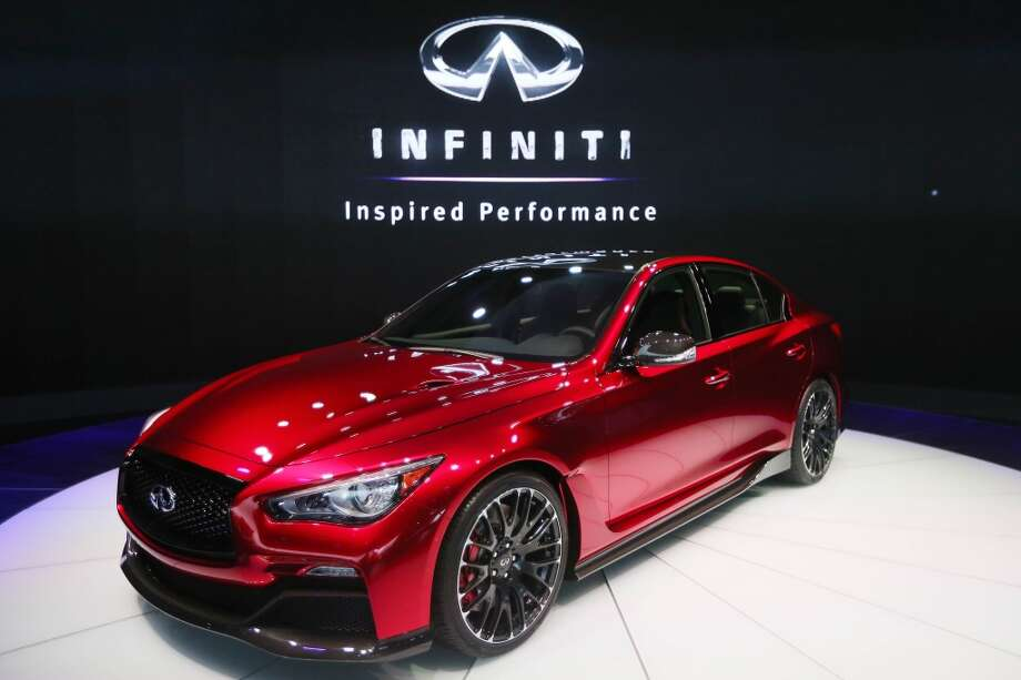 The Infiniti Q50 Eau Rouge at the North American International Auto Show in Detroit. (Steve Russell/Toronto Star via Getty Images) Photo: Steve Russell, Toronto Star Via Getty Images