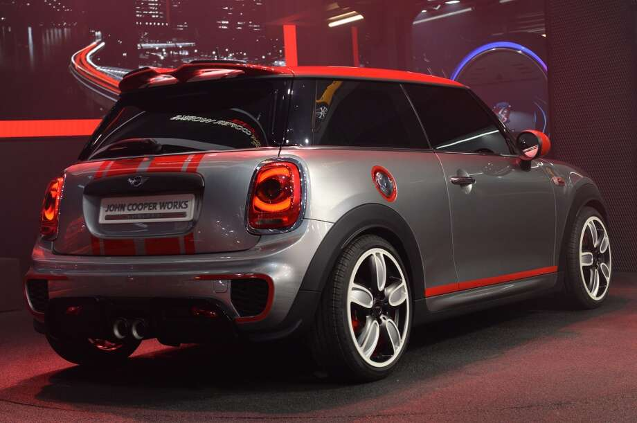 The John Cooper Works concept car is presented during a press preview at the North American International Auto Show in Detroit, Michigan. (STAN HONDA/AFP/Getty Images) Photo: STAN HONDA, AFP/Getty Images