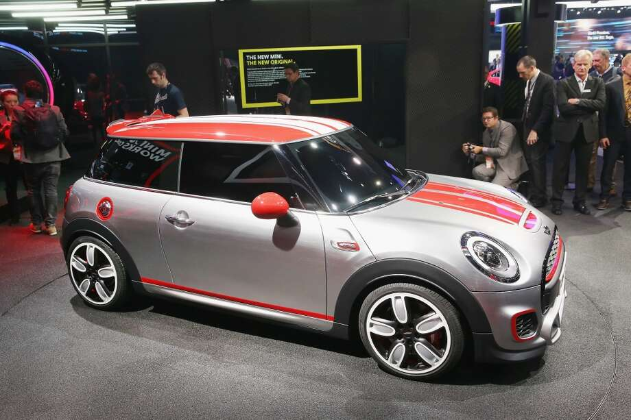 MINI introduces the John Cooper Works Concept car at the North American International Auto Show (NAIAS) in Detroit, Michigan. (Photo by Scott Olson/Getty Images) Photo: Scott Olson, Getty Images