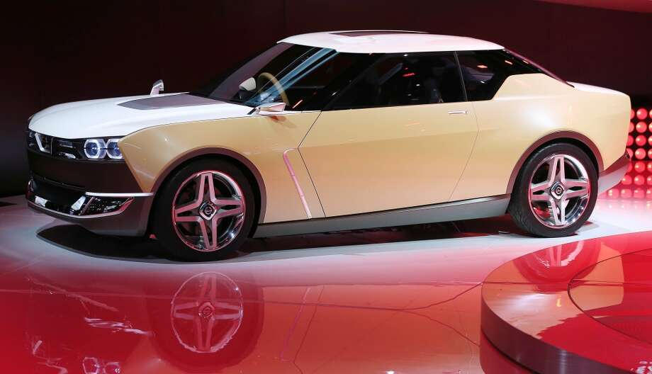 The Nissan IDx concept at  the North American International Auto Show in Detroit. (Steve Russell/Toronto Star via Getty Images) Photo: Steve Russell, Toronto Star Via Getty Images