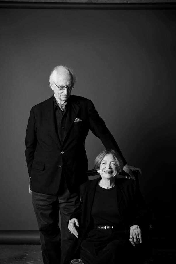 Fred Baldwin and Wendy Watriss, the founders of FotoFest. Photo: Julie Soefer / ONLINE_YES