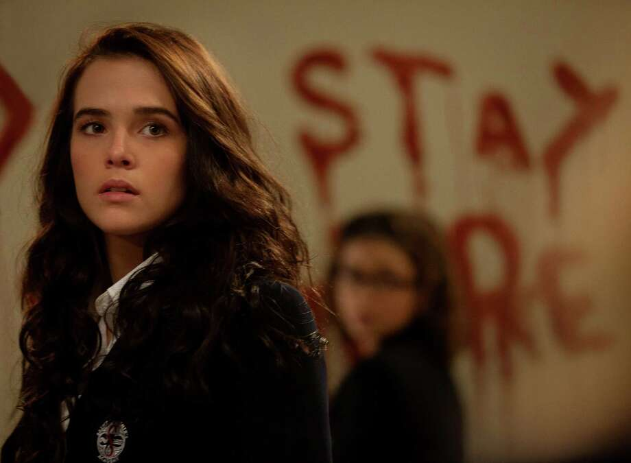 'Vampire Academy: Blood Sisters,' starring Zoey Deutch, is based on the popular Vampire Academy series launched in 2007 by Richelle Mead.  Photo: -- / BLOOD SISTERS LTD