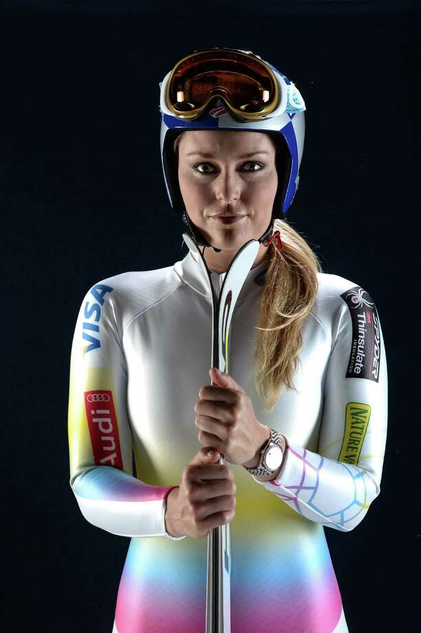 (FILE PHOTO) Skier Lindsay Vonn of the United States has withdrawn from participating in the upcoming 2014 Winter Olympics in Sochi, citing an instability in her injured knee.   WEST HOLLYWOOD, CA - APRIL 25:  Alpine skier Lindsey Vonn poses for a portrait during the USOC Portrait Shoot on April 25, 2013 in West Hollywood, California.  (Photo by Harry How/Getty Images) ORG XMIT: 160985631 Photo: Harry How / 2013 Getty Images