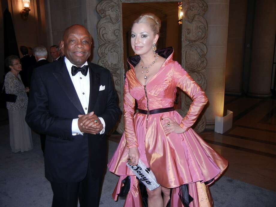 Former San Francisco Mayor Willie Brown and his longtime companion, Sonya Molodetskaya, are fixtures at the San Francisco social scene. Despite leaving office in 2004, Brown's influence can still be felt throughout the city. Photo: Catherine Bigelow, Special To The Chronicle