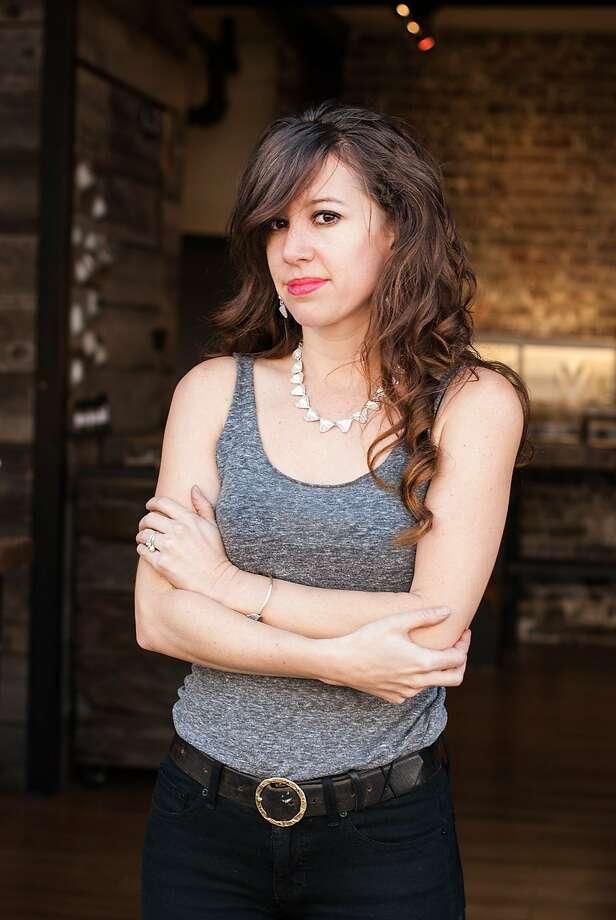 Kate Ellen, of Kate Ellen Metals jewelry Photo: Miranda Wendorf, Kate Ellen Metals