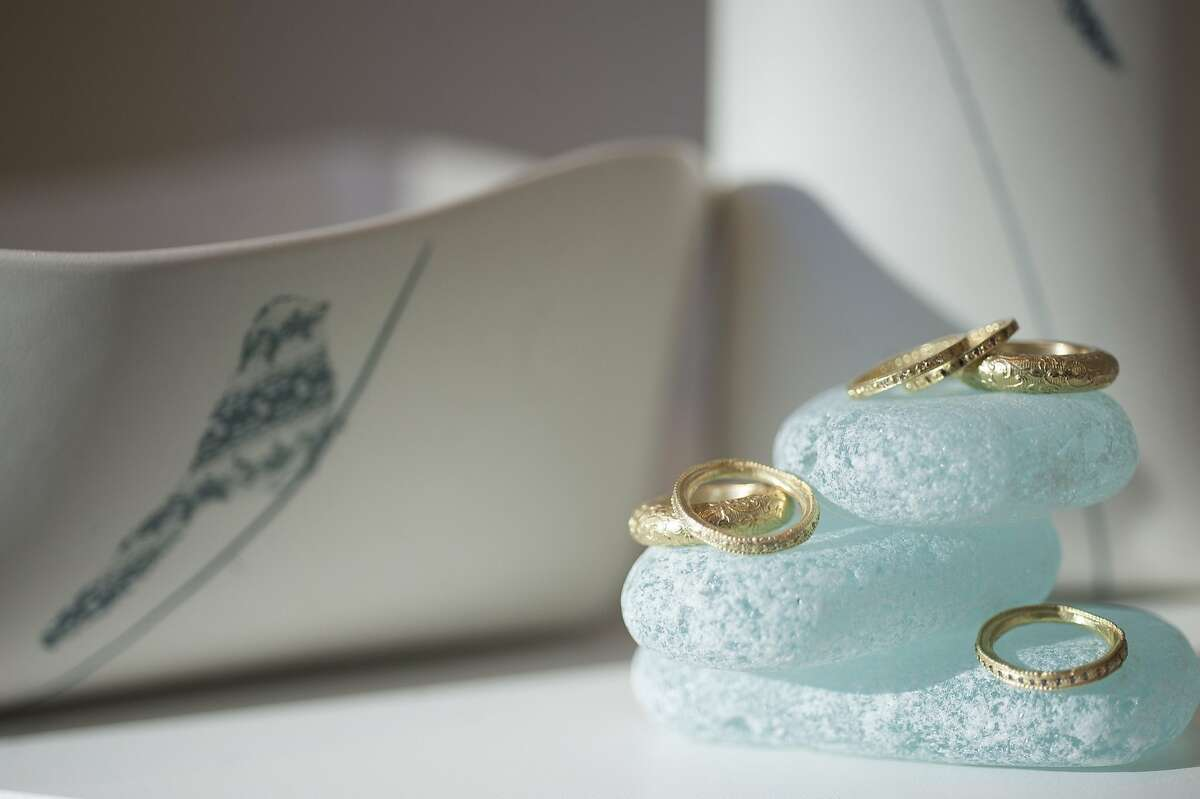 Baboo, a new home decor store on Sacramento Street, also caries jewlery by Tovi Farber.