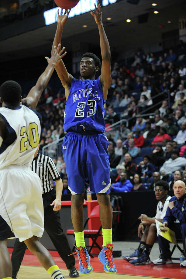 (5) Isaac Vann. The star from Bunnell High School went over the 1,000 point career  scoring mark with the help of a spectacular performance against Kaynor at the beginning of the season. Vann racked up 36 points, nine rebounds and five steals in the 92-47 victory. Photo: Brian A. Pounds / Connecticut Post